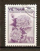 1984 - Flore - Chrysanthème Sinense - N°561 - Viêt-Nam