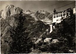 CHAMONIX MONT BLANC (74) Le Téléphérique De Planpraz - Le Brévent - Très Très Rare - Carte Postée En 1963 - Chamonix-Mont-Blanc