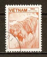 1984 - Faune - Tigre (Panthera Tigris) - N°562 - Viêt-Nam