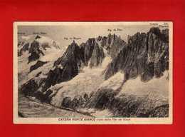 COURMAYEUR - Catena Monte Bianco - Vista Dalla Mer De Glace.  Vedi Descrizione - Altre Città