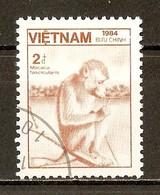 1984 - Faune - Macaque Crabier (Macaca Fascicularis) - N°564 - Viêt-Nam