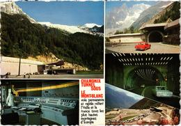 CHAMONIX (74) Le Tunnel Sous Le Mont Blanc - Diverses Vues - Très Rare - Chamonix-Mont-Blanc