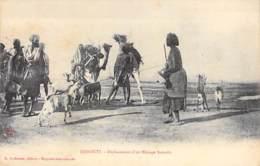 DJIBOUTI  - Déplacement D'un Ménage Somalis - CPA - - Djibouti