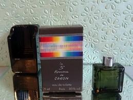 """Miniature """" LE 3ème HOMME""""  De CARON Eau De Toilette  5 Ml Dans Sa Boîte (M76-3) - Miniatures Hommes (avec Boite)"""
