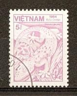 1984 - Faune - Le Gecko Tokay (Gekko Gecko) - N°566 - Viêt-Nam