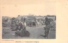 DJIBOUTI  - Campement Indigène - CPA - - Djibouti