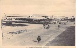 DJIBOUTI  - Hangars Et Entrepôts De Djibouti - CPA - - Dschibuti