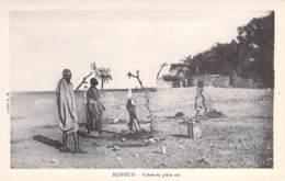 DJIBOUTI  - Scène En Plein Air - CPA - - Djibouti