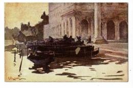 """Carte Illustrée L Zambeletti """" Venezia - Portico Del Palazzo Reale"""" - Illustrateurs & Photographes"""
