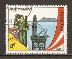 1985 - 10ème Anniversaire Libération Du Sud Viêt-nam - Plate-forme Pétrolière - N°573 - Viêt-Nam