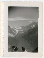 MER De Glace Mont Blanc Chamonix Vue Des Drus - Lieux