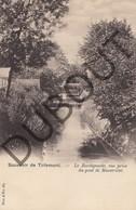 Postkaart-Carte Postale TIENEN/Tirlemont Le Borchgracht, Point De Maestricht - De Borggracht  (K30) - Tienen