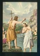 Ed. Fisa, Serie Santus Nº 32 *San Juan Bautista* Dep. Legal B. 5521-70. Nueva. - Santos