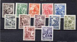 YOUGOSLAVIE 1950-1 * (1 D. SANS GOMME) - Neufs
