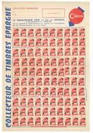 Feuille Papier - Collecteur De Timbres épargne Cibon - Advertising