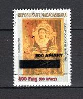 MADAGASCAR N° 1896  SURCHARGE A CHEVAL   NEUF SANS CHARNIERE COTE  ? €  REINE  VOIR DESCRIPTION - Madagascar (1960-...)