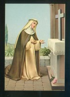 Ed. Fisa, Serie Santus Nº 53 *Santa Rosa De Lima* Dep. Legal B. 5521-70. Nueva. - Santos