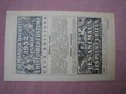"""Tract Hachette 1932 """" Nos Dépenses Publiques Augmentent Trop"""" - Organisations"""