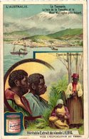 0984  Liebig 6 Cards- C1910 Australie-Nouvelle-Galles-Sydney-Or- Kimberley-Tribu Aruntas-Kangourou-Emoe-Tasmania - Liebig