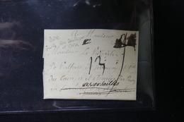 FRANCE - Lettre Pour Versailles , ( Camp Et Armées Du Roi ) -  L 20977 - 1701-1800: Précurseurs XVIII