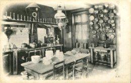 50 - CPA Gonneville - Hotel Aubourg, Cuisine - France
