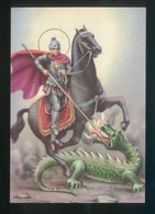 Ed. Fisa, Serie Santus Nº 42 *San Jorge* Dep. Legal B. 5521-70. Nueva. - Santos