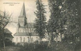 76 - CPA Auquemesnil - L'Eglise - France