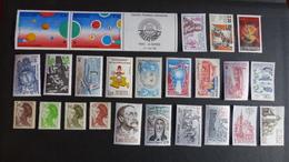 FRANCE - Année 1982 - 38 Timbres ** Neufs Sans Charnière Différents - Stamps
