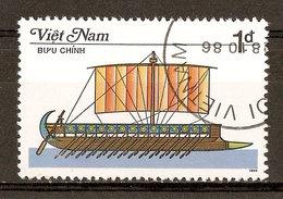 1987 - Bateau à Rames - Birème Grecque - N°732 - Viêt-Nam