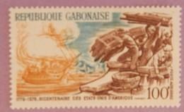 """GABON ANNEE 1976 YT PA  178 NEUF """"BICENTENAIRE DES USA"""" - Gabon (1960-...)"""
