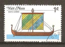 1987 - Bateau à Rames - Navire Viking - N°733 - Viêt-Nam