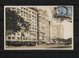Brasil 1927 Tarjeta Circulada De Rio De Janeiro A Colombia - Rio De Janeiro