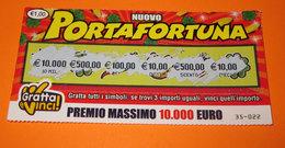GRATTA E VINCI PORTAFORTUNA - Lottery Tickets