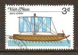1987 - Bateau à Rames - Galère Grecque - N°735 - Viêt-Nam