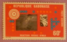 """GABON ANNEE 1976 PA YT 190 NEUF  """"REACTEUR FOSSILE"""" - Gabon (1960-...)"""