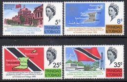 Trinidad & Tobago 1968 Royal Visit Set Of 4, MNH, SG 313/6 - Trinidad & Tobago (...-1961)