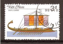 1987 - Bateau à Rames - Birème Phénicienne - N°736 - Viêt-Nam