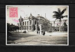 Brasil 1928 Tarjeta Postal Circulada De Sao Paulo A Colombia - São Paulo