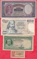 Grèce 10 Billets Dans L 'état - Greece
