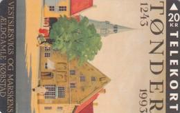 Denmark, TS 007, Toender 750 Years, Only 5.000 Issued, 2 Scans. - Denmark