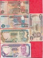 Zambie  10 Billets Dans L 'état - Zambie