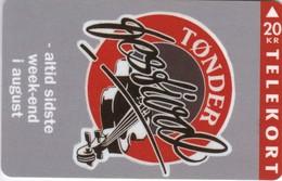 Denmark, TS 008, Toender Festival 1993, Violin,  Only 5.000 Issued, 2 Scans. - Denmark