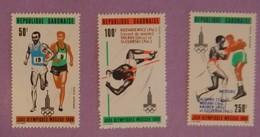 """GABON ANNEE 1980 YT 234/236  NEUFS """"JO DE MOSCOU"""" - Gabon (1960-...)"""