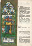 V3788 Capranica Prenestina (Roma) - Mentorella - Venerabile Santuario Madre Delle Grazie - Vetrata / Non Viaggiata - Altre Città