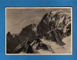 CORMAIORE - Cima Del Monte Bianco E Cresta Di Peuterey. Viaggiata 09/07/1942. Vedi Descrizione - Italia