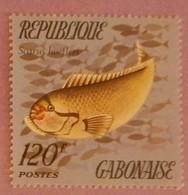 "GABON ANNEE 1975 YT 350 NEUF**  ""POISSON"" - Gabon (1960-...)"