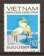 1972 - Faune - Oiseaux - Bubulcus Ibis - N°762 Vietnam Du Nord - Viêt-Nam
