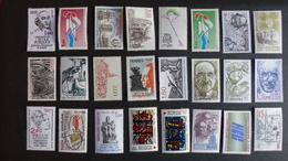 FRANCE - Année 1981 - 46 Timbres ** Neufs Sans Charnière Différents - Stamps
