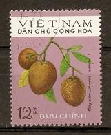 1975 - Fruits Du Vietnam - Achras Sapota - N°855 Vietnam Du Nord - Viêt-Nam