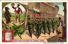 0985  Liebig 6 Cards- C1910 En Bulgarie-battre Le Blé -Montreur D'Ours-Sofia-Laine-marché Djoumaya-Philippopoli - Liebig